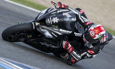 Rea con Kawasaki ZX10, más rápido que las MotoGP en Jerez