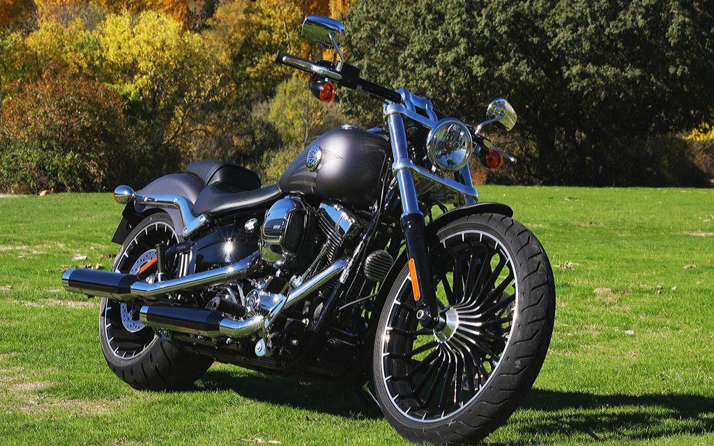 Fotos prueba Harley Davidson Breakout