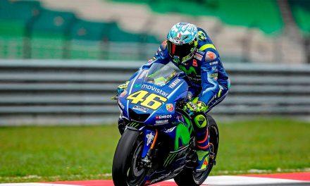 Valentino Rossi ya ha salido del hospital