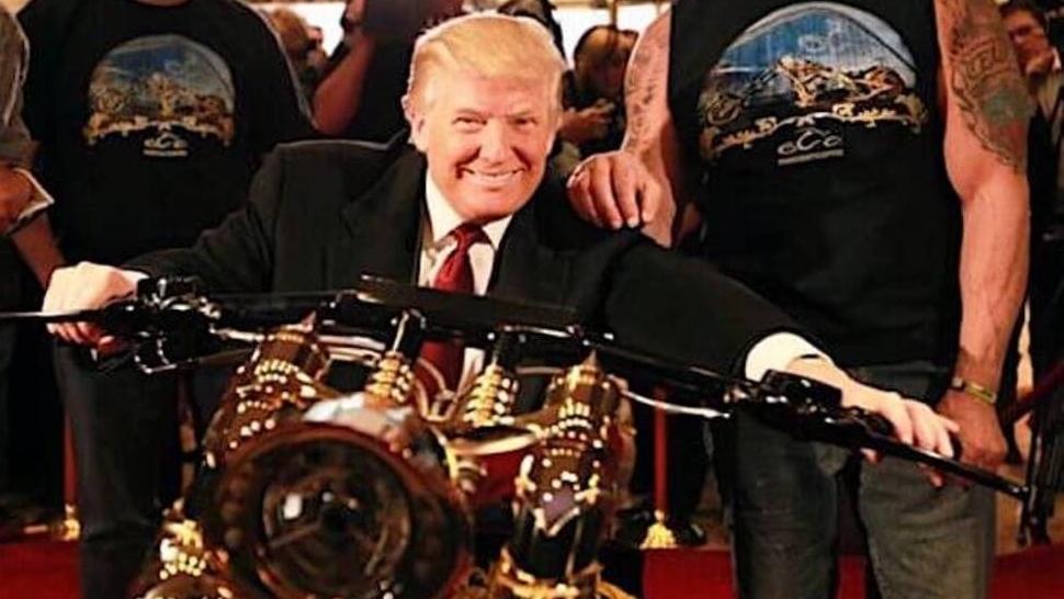 Trump quiere doblar el precio de las motos europeas