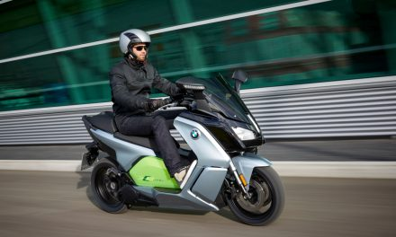BMW Motos 2017: BMW C EVOLUTION, electricidad al poder