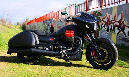 Moto Guzzi MGX21: entre el spaguetti y el western