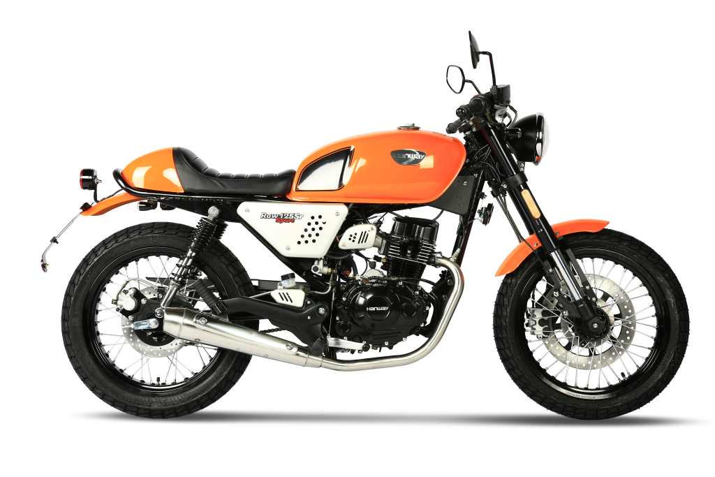 Raw 125 SR Sport Orange