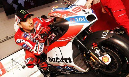 Lorenzo y Ducati, problemas de comodidad