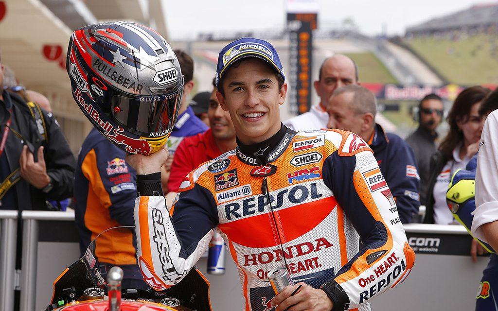 MotoGP Circuito De Las Americas 2017: Marc gana y Viñales al suelo