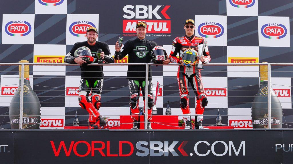 Mundial SBK 2017 Donington 6ª carrera (2)