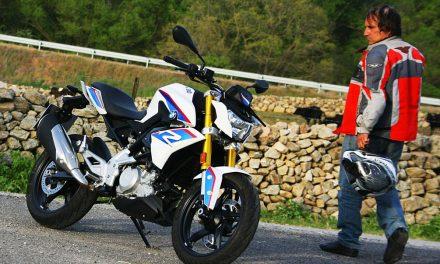 Prueba BMW G310 R: LA PUERTA DEL CIELO