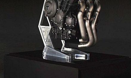 Triumph en Moto2 con su motor 675 cc 3 cilindros