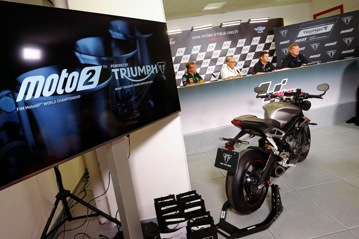 Triumph en Moto2