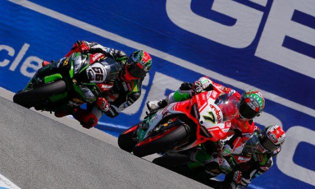 Mundial Superbikes 2017 8ª carrera, Laguna Seca: Rojo y verde