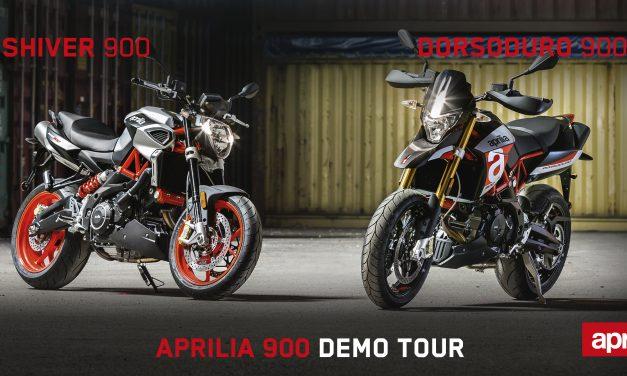 ¿Quieres probar las nuevas Aprilia 900? Pues monta en las Shiver y Dorsoduro 900 gratis