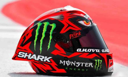El casco Shark Race Diablo de Jorge Lorenzo en el GP Austria 2017, ¿ es una copia de Darth Maul de Star Wars?