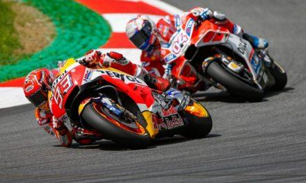MotoGP Austria 2017: Ducati y Honda, Márquez y Dovizioso, al límite.