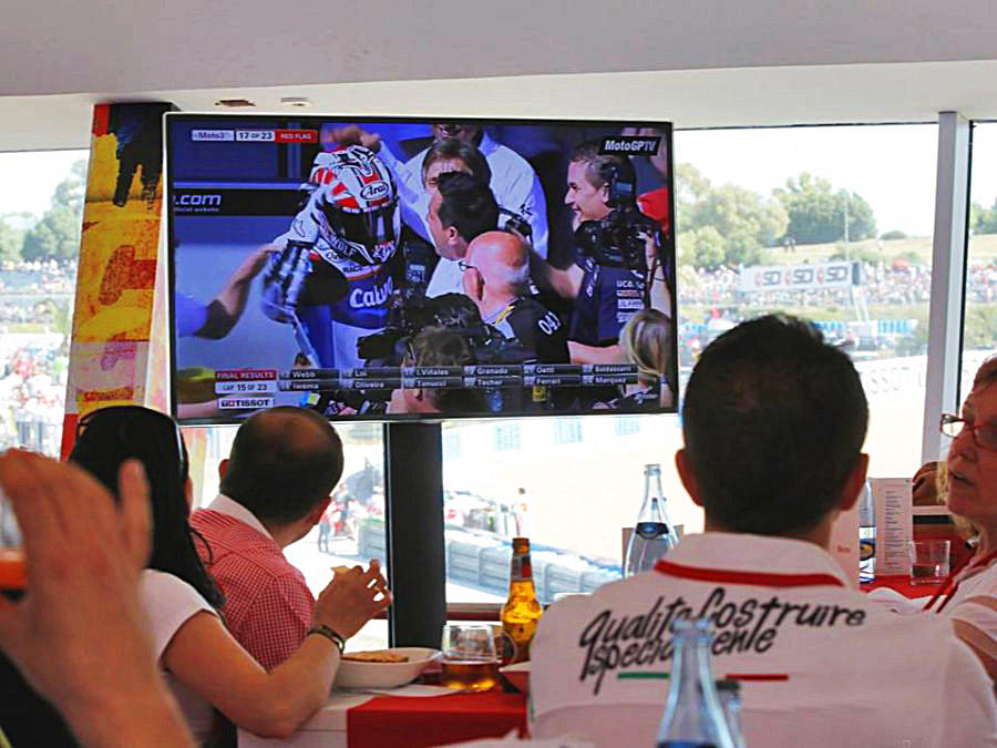 Motogp por TV e internet
