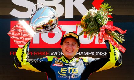 ANA CARRASCO: primera mujer EN GANAR UNA CARRERA DEL Campeonato Mundial  Supersport 300