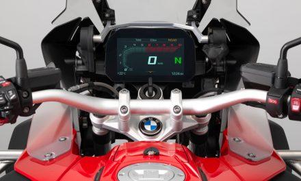 BMW Connected Ride y Llamada de Emergencia Inteligente ECALL con pantalla gigante, disponibles para las BMW R 1200 GS