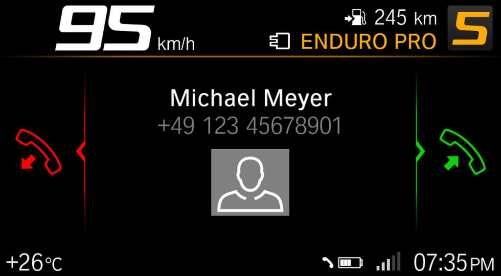 BMW ECALL y llamada de emergencia pantalla TFT (11)