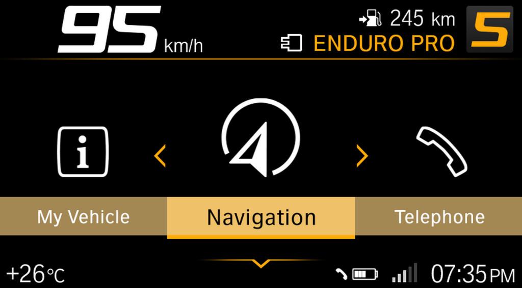 BMW ECALL y llamada de emergencia pantalla TFT (12)