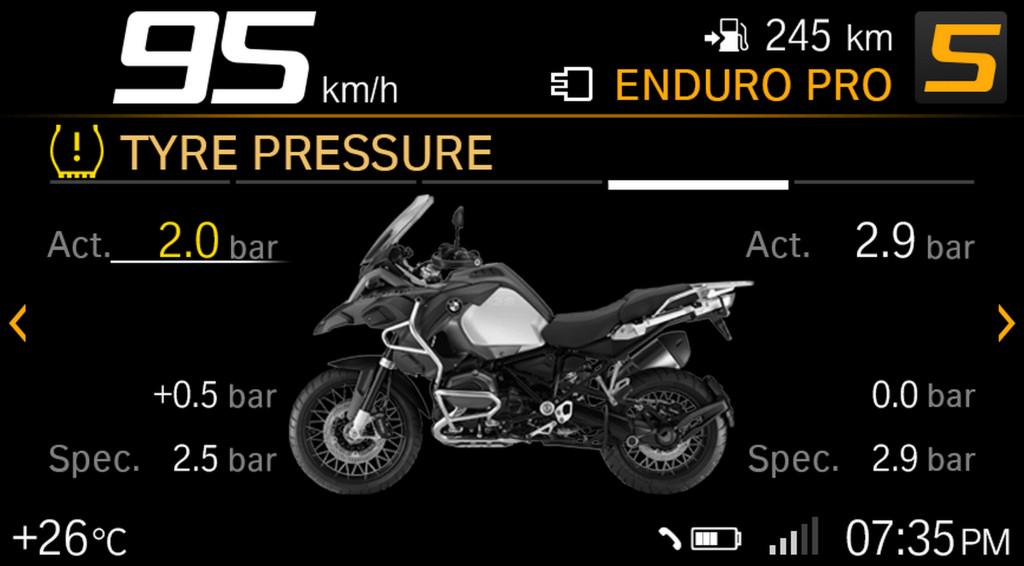 BMW ECALL y llamada de emergencia pantalla TFT (5)