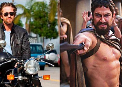 Gerard Butler accidente de moto (1)