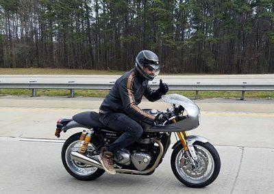 Gerard Butler accidente de moto (9)