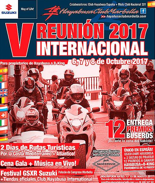 V Reunión Internacional Hayabusa Club Marbella 2017: las más potentes