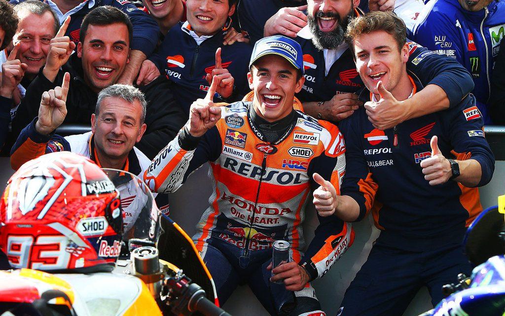 MotoGP 2017 GP Australia: Márquez gana la guerra de las antípodas.