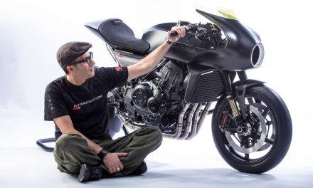 "Honda CB4 'Interceptor' Concept, la ""Café Racer"" futurista"
