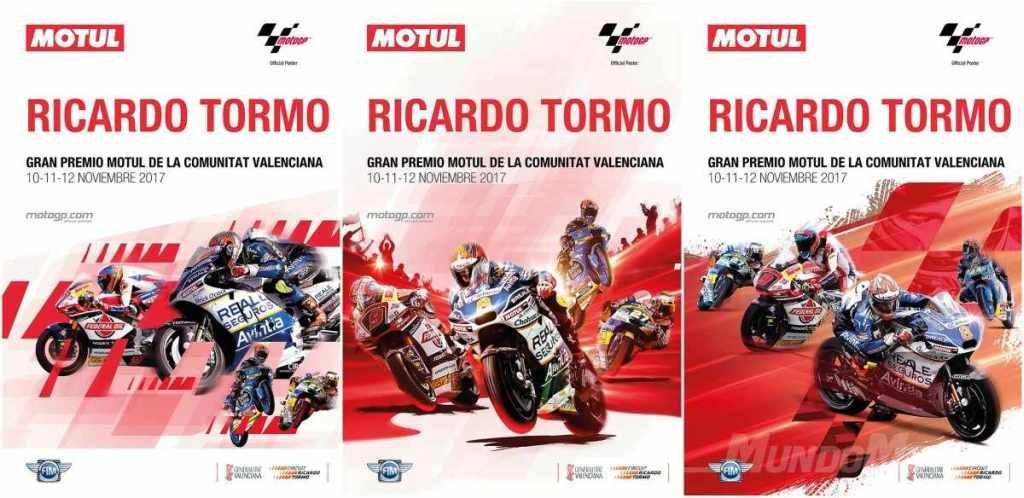 cartel del GP de MotoGP de Cheste 2017