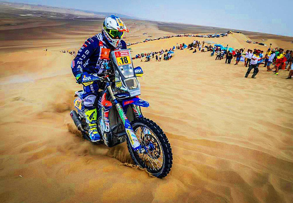 Dakar 2018 dunas