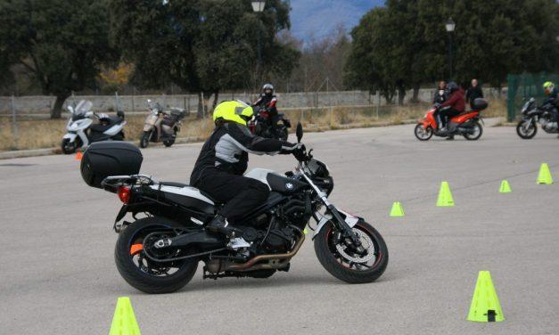Curso de conducción segura RGP SCHOOL MOTORADN: ENTRE LA CONFIANZA Y LA PERFECCIÓN