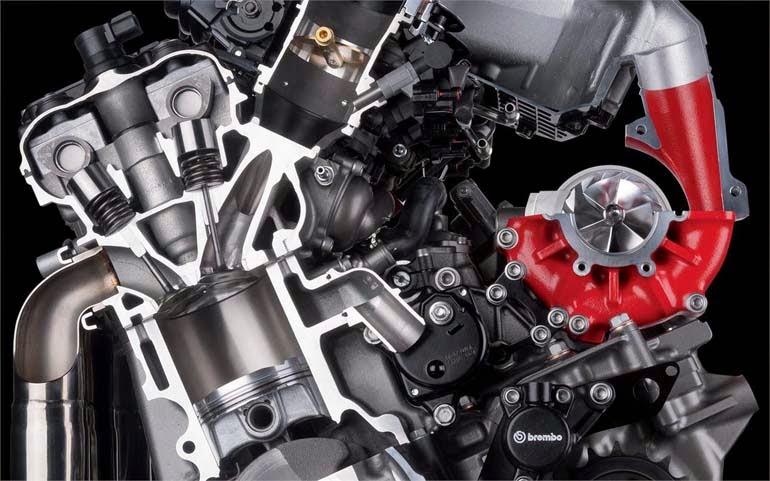 motor kawasaki H2R