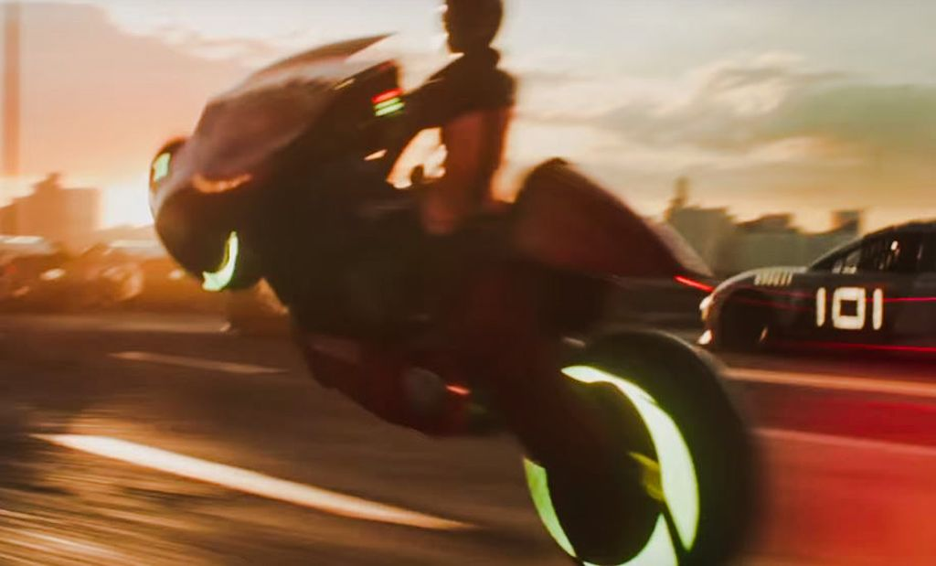 Motos y Spielberg: la moto de Ready Player One