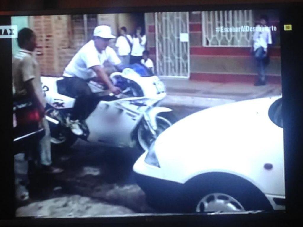 Motos clan Pablo Escobar Suzuki GSXR 91. MotorADN (1)