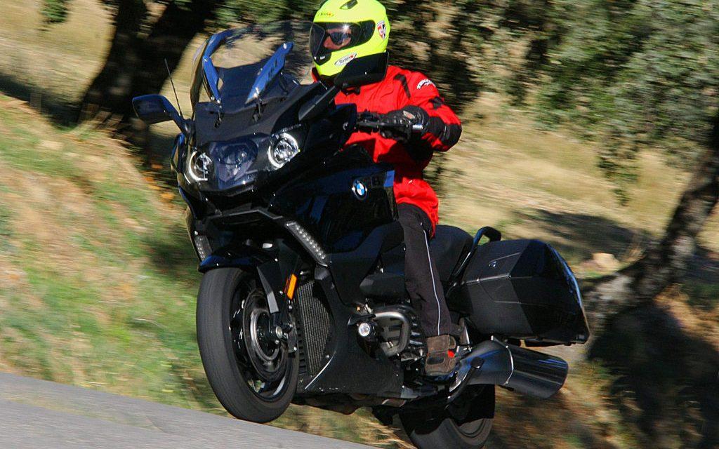 PRUEBA BMW K1600 B 2018: B DE BAGGER - motorADN com