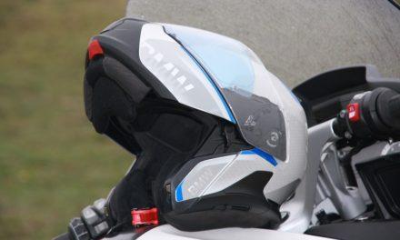 Fotos casco BMW System 7 Carbon prueba MotorADN (29 imágenes)