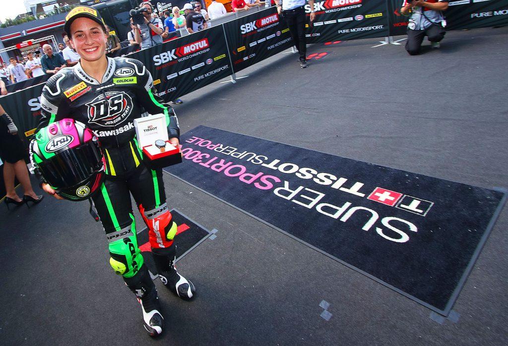 Ana Carrasco gana SSP300 en Imola WorldSBK 2018 (3)