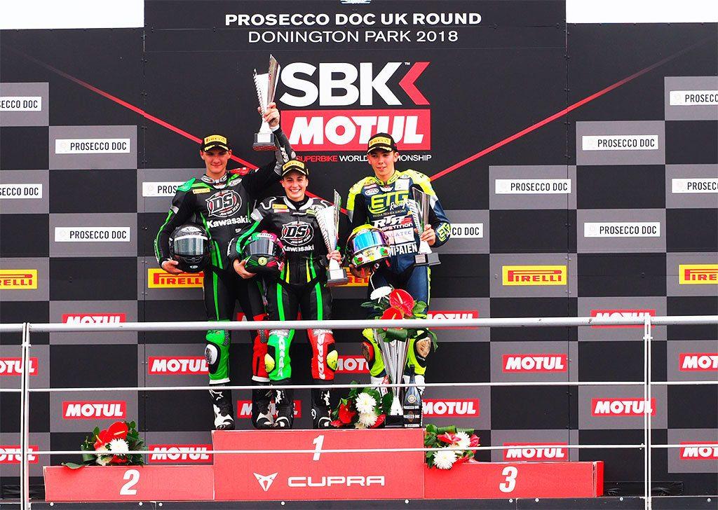 SBK 2018 Donington 6ª prueba. SSP300 gana Ana Carrasco (1)