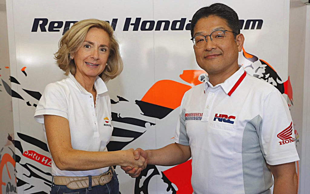 El equipo más potente seguirá: Repsol y Honda renuevan.
