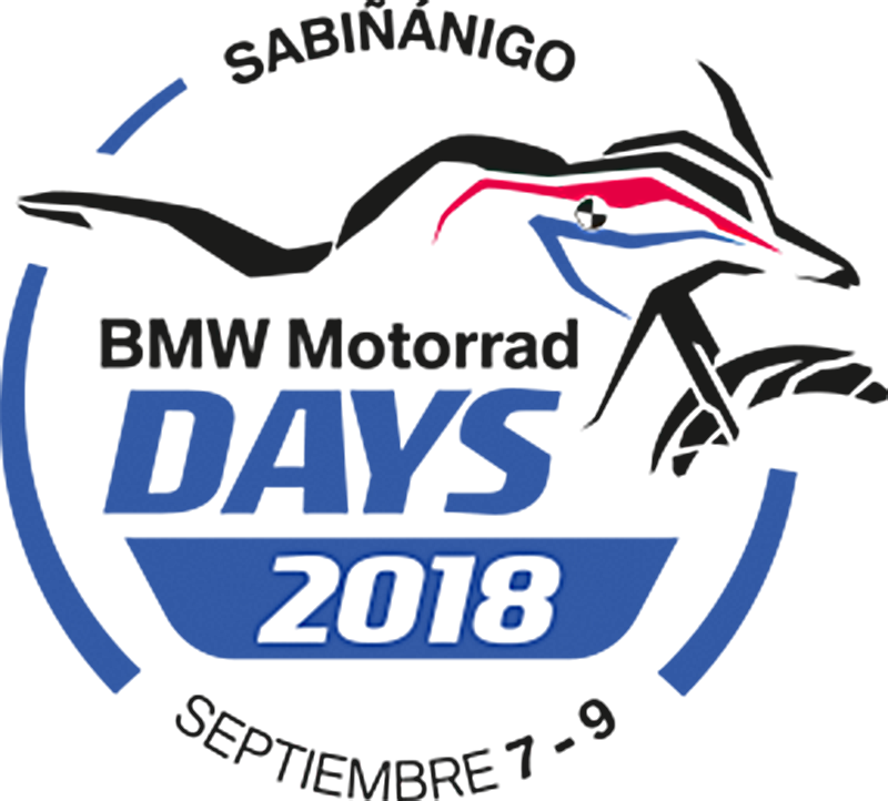 BMW Motorrad Days Sabiñánigo 2018 logo.