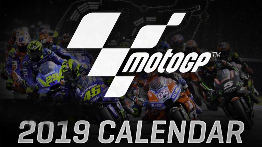 ¡YA TENEMOS EL CALENDARIO MOTOGP 2019!