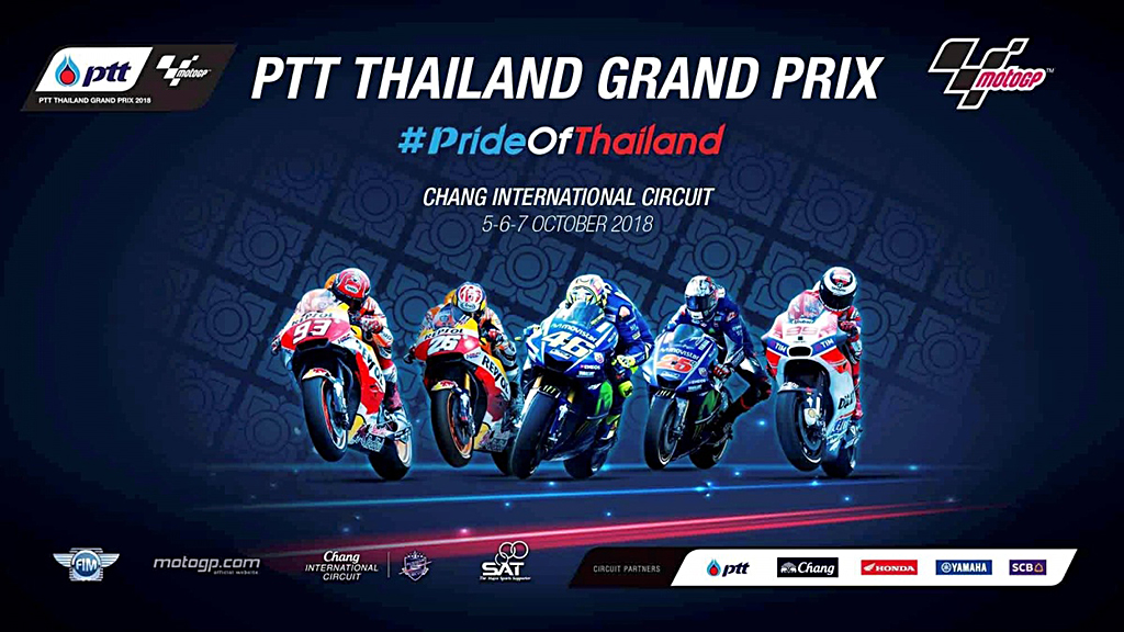 MOTOGP TAILANDIA 2018: HORARIOS