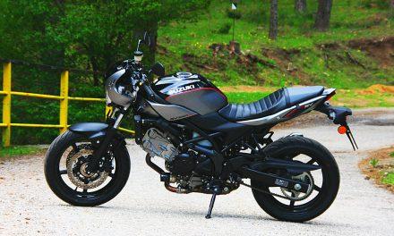 Fotos prueba Suzuki SV650 X 2018