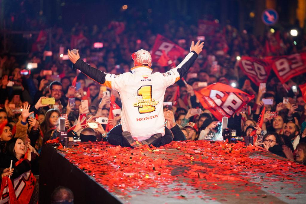 Marquez fiesta 2018 en Cervera 7º Mundial (3)