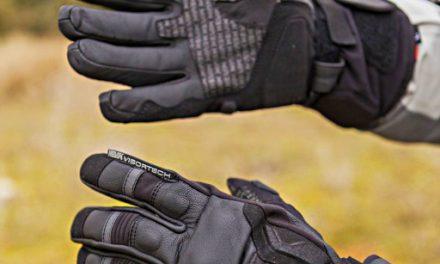 Fotos guantes  invierno Hevik Nettuno. Prueba.