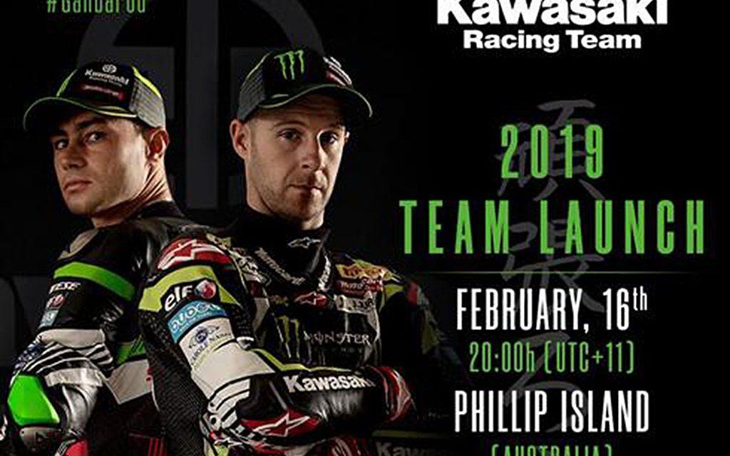 Presentación equipo Kawasaki SBK 2019 en directo ¿Quieres verlo?