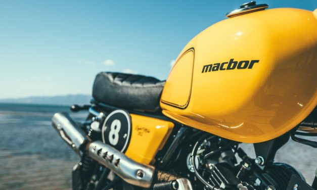 Fotos prueba Macbor Eight Mile 125