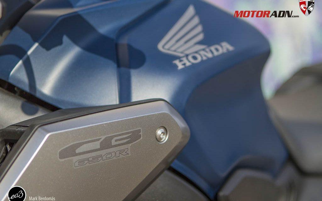 Fotos prueba Honda CB650 R 2019