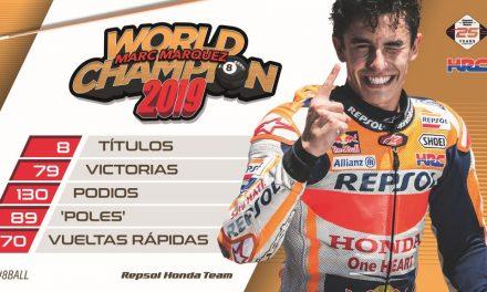MOTOGP TAILANDIA 2019: MARC MARQUEZ, CAMPEON DEL MUNDO… OTRA VEZ