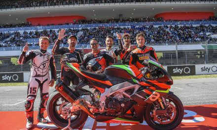 APRILIA ALL STARS 2020: LA GRAN FIESTA RACING